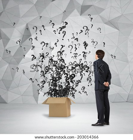A metaphor of hidden risks and professional consulting give a possibility to avoid these kind of risks. - stock photo