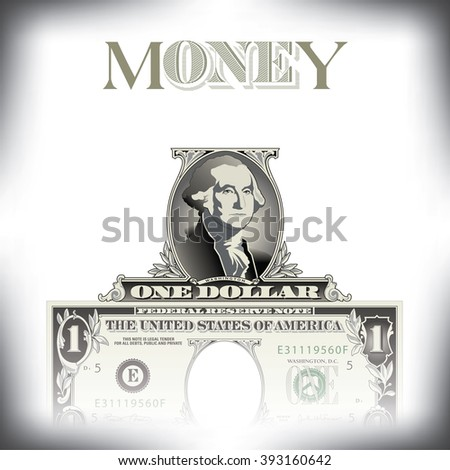 A money background with space for type