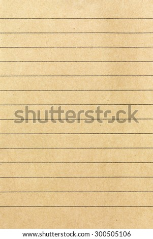 A page ripped off from the notebook recycle paper on white background - stock photo