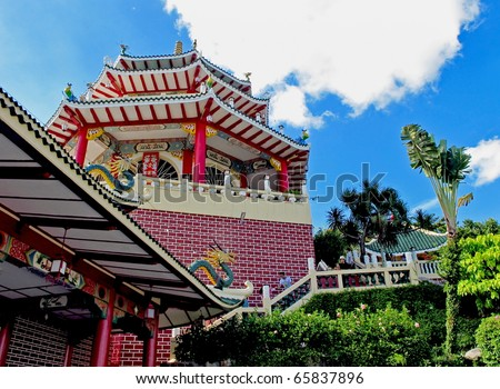 A pagoda in the Taoist temple