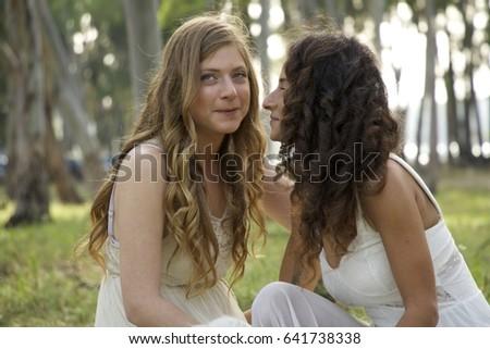 Lesbian Woman Love