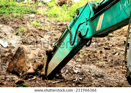 A part of loader - stock photo