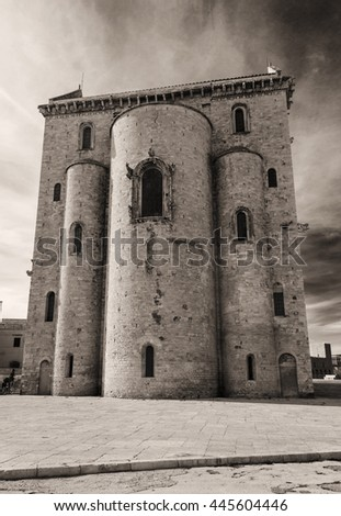 A particular of the Trani Cathedral