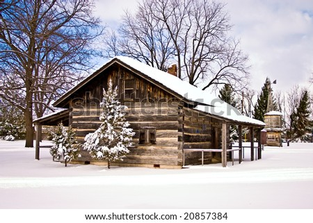 a perfect place to have a White Christmas or to celebrate the New Year! - stock photo