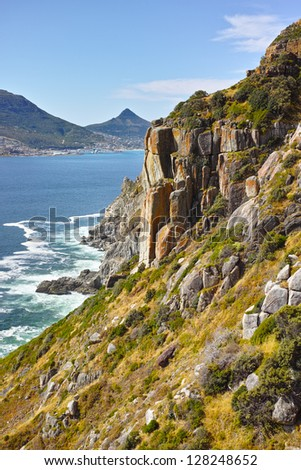 A photo of Coast near Cape Town - South Africa