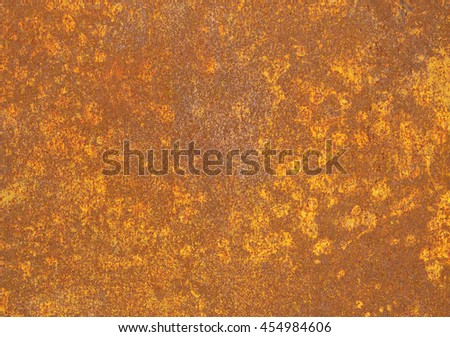 a piece of rusty metal surface texture background.
