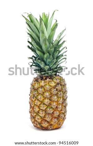 a pineapple on a white background