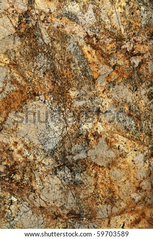 A polished granite slab background - stock photo