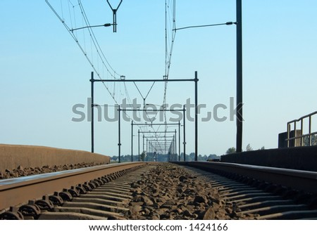 A railway in the netherlands