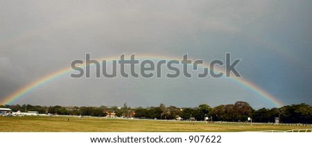A Rainbow - stock photo