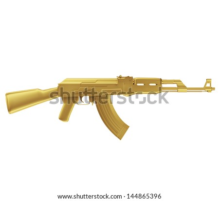 golden machine guns