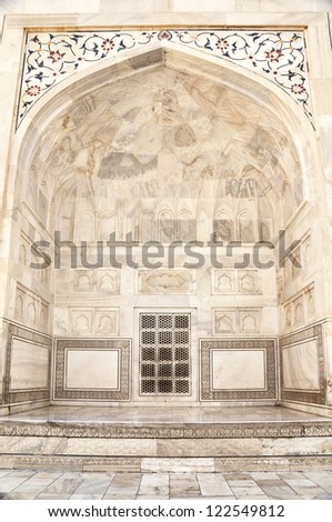 Mumtazmahal stock photos royalty free images vectors for Taj mahal exterior design