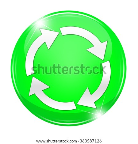 A recycle button isolated