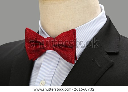 A red tie