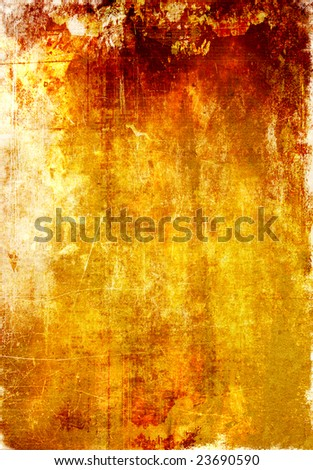 A redish yellow abstract background - stock photo