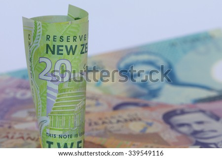 A Roll of NW Dollars - stock photo