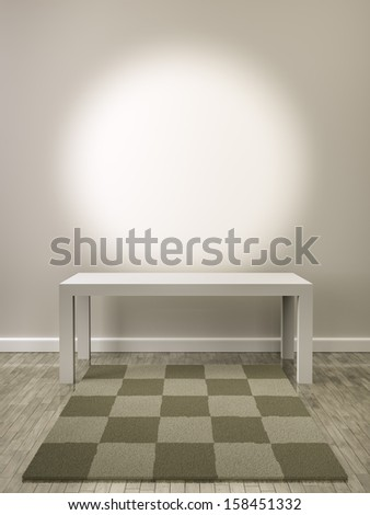 A room with a spot for your content