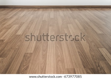 Room Pale Wood Parquet Floor Stock Photo Royalty Free 673977085