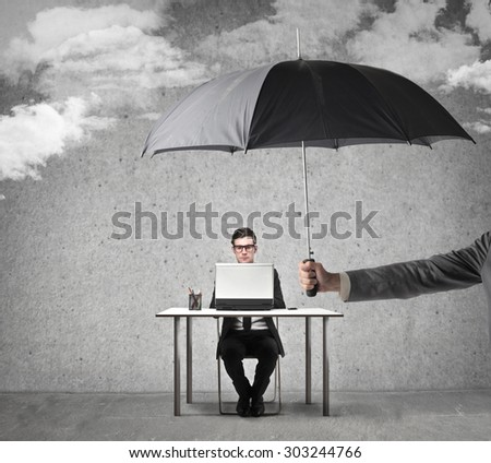 a safe place to work - stock photo