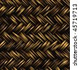 A seamless 3D wicker basket or furniture texture that tiles as a pattern in any direction. - stock photo
