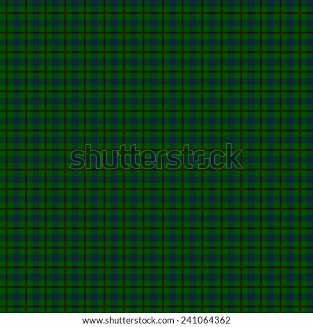 A seamless patterned tile of the clan Agnew tartan. - stock photo