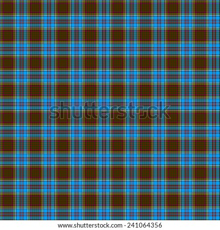 A seamless patterned tile of the clan Anderson tartan. - stock photo