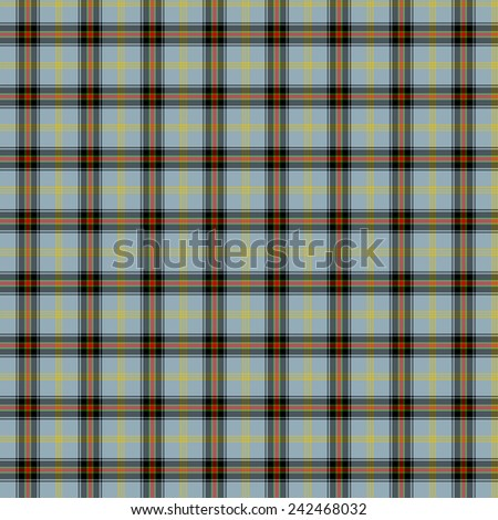 A seamless patterned tile of the clan bell tartan.