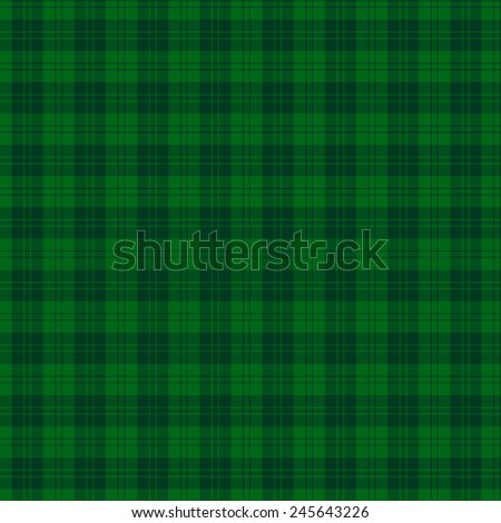 A seamless patterned tile of the clan Erskine Hunting tartan. - stock photo