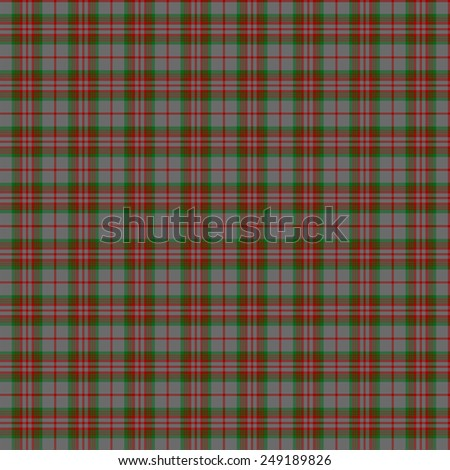 A seamless patterned tile of the clan Gray tartan. - stock photo