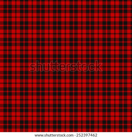 A seamless patterned tile of the Ettrick (District) tartan. - stock photo
