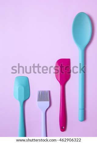 Kitchen Utensils Border
