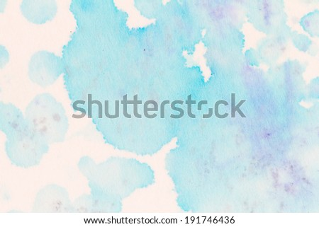 A series of abstract watercolour backgrounds