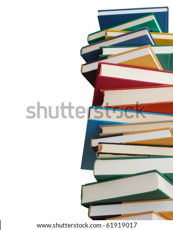 A set of high volume books - stock photo