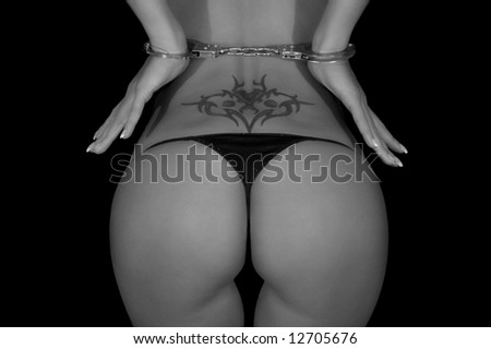 A sexy butt - stock photo