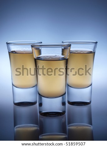 A shot glasses - stock photo