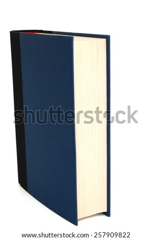 A single studying book - stock photo
