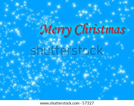 a snow flake winter background with merry christmas written on it