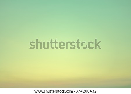 A soft cloud background with a pastel colored - stock photo