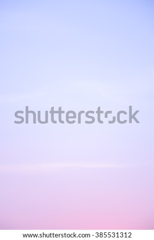 A soft cloud background with a purple pastel colored - stock photo