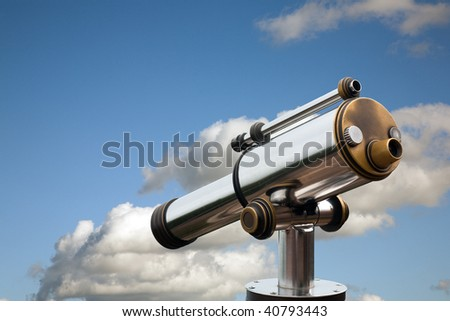 A spyglass overlooking the possibilities
