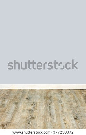 A studio photo of a blank interior - stock photo