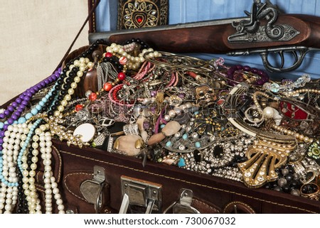 stock-photo-a-suitcase-with-treasures-go