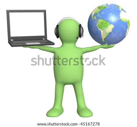 A support service - stock photo