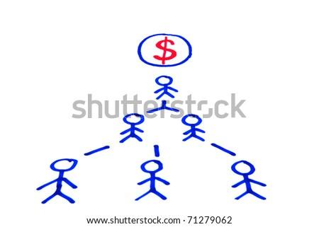 a symbol of success - stock photo