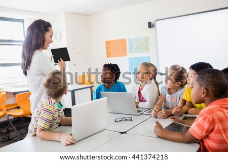 technology teaching adult using