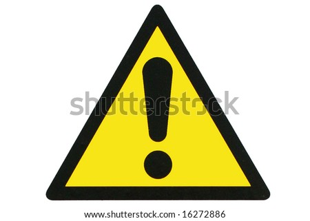 A think sign - stock photo