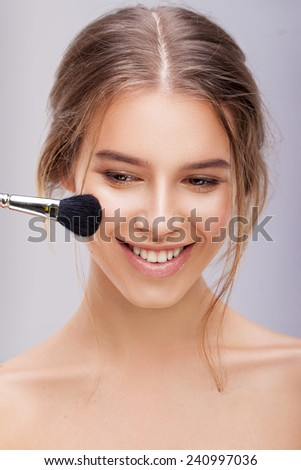 A touch of tan - stock photo
