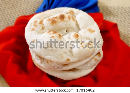 a traditional bread of asian peoples