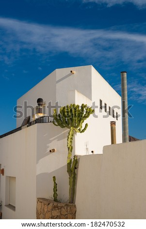 A traditional whitewashed Andalusian house exterior