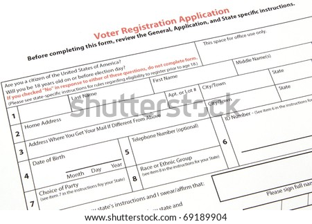 Register To Vote Stock Images, Royalty-Free Images & Vectors ...